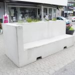 PALA Bench with planting space