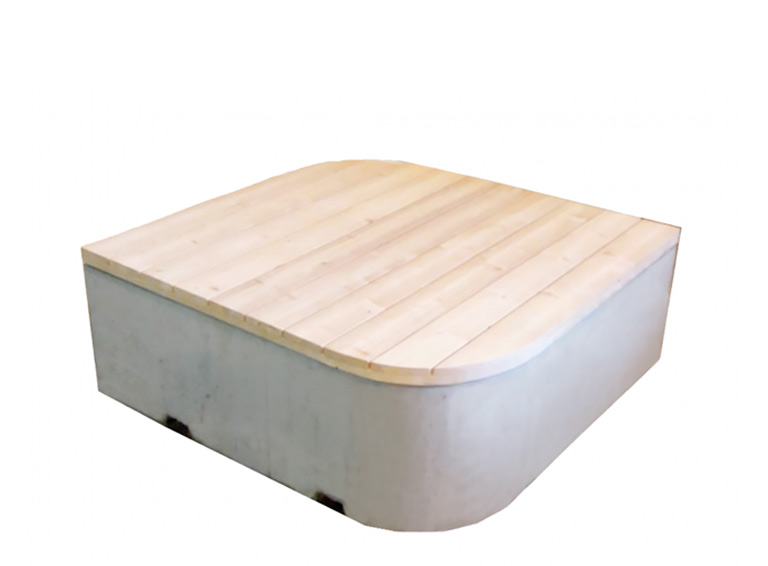 "PALA Concrete Furniture Bench ""Kurvi"""