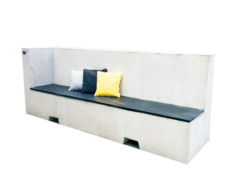 PALA Concrete Furniture Bench
