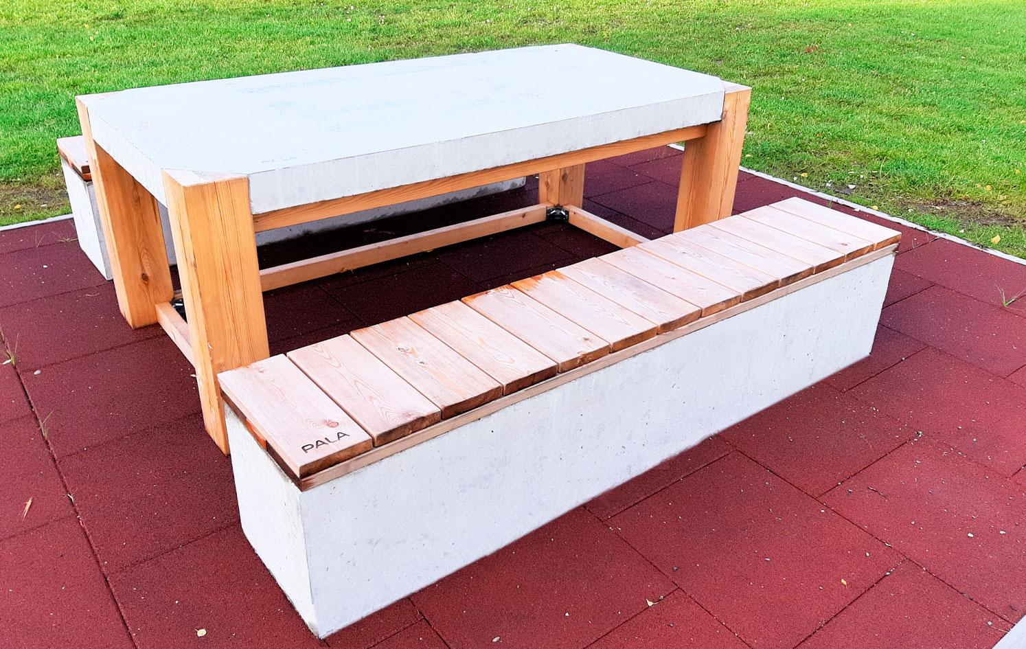 PALA betonikalusteet pöytä Pori